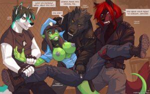 Cop's Story - Wolfy-Nail   MyComicsxxx