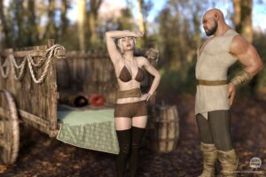 Horny Elven Wife - AlienBrain | MyComicsxxx