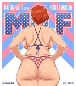 Mating Habits of The North American MILF - Fellatrix | MyComicsxxx