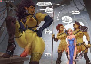 Captive of the Orcs - Rino99 | MyComicsxxx