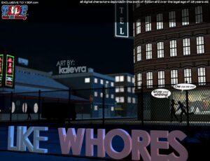 Like Whores - Y3DF | MyComicsxxx