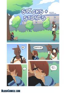 Sticks & Stones - Onta | MyComicsxxx