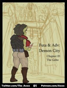 Futa & Adv: Demon City - Axxx | MyComicsxxx