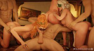 Anna Henrietta's Sexparty - BlendGuardian   MyComicsxxx