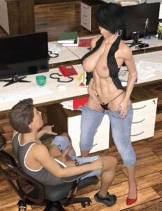 Office Fun Story - Mattocean | MyComicsxxx