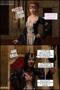 Queen Tessa - Darklord | MyComicsxxx