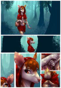 Little Red Riding Deer - Celeste   MyComicsxxx