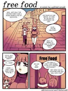 Free Food - Wolfrad Senpai | MyComicsxxx