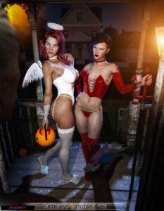 Halloween 1 - Spiderpity | MyComicsxxx