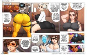 Overwatch Comic - Jay Marvel   MyComicsxxx