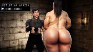 Lust of an Amazon - Thicknsinister   MyComicsxxx