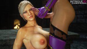 Cassie vs Mileena - Supro | MyComicsxxx