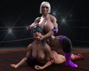 Futa Fight: Marzia vs Sable - Chupapa | MyComicsxxx