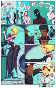 Spider Friends with Benefits - Fred Perry | MyComicsxxx