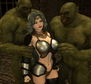 Queen and Orcs - Zafo | MyComicsxxx